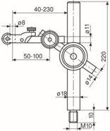 Immagine per la categoria Aste di misurazione/basi magnetiche