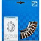 Immagine di PFERD Spazzole a disco, filo ritorto POS RBG 17813/22,2 CT INOX 0,50