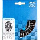 Immagine di PFERD Spazzole a disco, filo ritorto POS RBG 11512/22,2 CT INOX 0,50