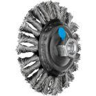 Immagine di PFERD Spazzole coniche con foro filettato, filo ritorto KBG 11515/M14 CT INOX 0,50