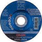 Immagine di PFERD Dischi da sbavo E 115-7 CERAMIC SGP STEELOX