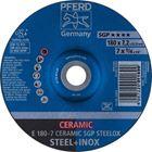 Immagine di PFERD Dischi da sbavo E 180-7 CERAMIC SGP STEELOX