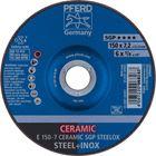 Immagine di PFERD Dischi da sbavo E 150-7 CERAMIC SGP STEELOX