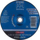 Immagine di PFERD Dischi da sbavo E 230-4,1 CERAMIC SGP STEELOX