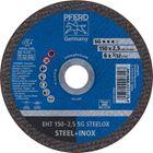 Immagine di PFERD Dischi da taglio EHT 150-2,5 SG STEELOX