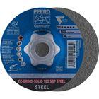 Immagine di PFERD disco da sbavo CC-GRIND CC-GRIND-SOLID 100 SGP STEEL/16,0