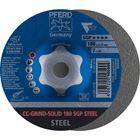 Immagine di PFERD disco da sbavo CC-GRIND CC-GRIND-SOLID 180 SGP STEEL