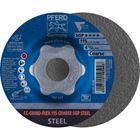 Immagine di PFERD disco da sbavo CC-GRIND CC-GRIND-FLEX 115 COARSE SGP STEEL