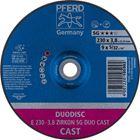 Immagine di PFERD Dischi da taglio E 230-3,8 ZIRKON SG DUO CAST