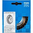 Immagine di PFERD Spazzole coniche con foro filettato, filo ritorto POS KBG 10013/M14 ST 0,50