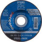Immagine di PFERD Dischi da taglio EH 115-2,4 SG STEELOX