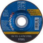 Immagine di PFERD Dischi da taglio EH 115-2,4 PSF STEEL