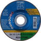 Immagine di PFERD Dischi da taglio EH 115-2,4 PSF ALU+STONE