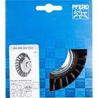 Immagine di PFERD Spazzole coniche con foro filettato, filo ritorto POS KBG 11515/M14 ST 0,50