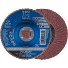 Immagine di PFERD Disco lamellare POLIFAN PFF 100 A 40 SG STEELOX/16,0