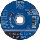 Immagine di PFERD Dischi da taglio EHT 125-2,2 SGP STEELOX