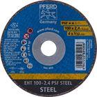 Immagine di PFERD Dischi da taglio EHT 100-2,4 PSF STEEL/16,0