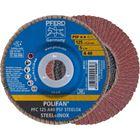 Immagine di PFERD Disco lamellare POLIFAN PFC 125 A 40 PSF STEELOX