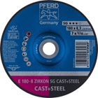 Immagine di PFERD Dischi da sbavo E 180-8 ZIRKON SG CAST+STEEL