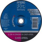 Immagine di PFERD Dischi da sbavo E 230-8 ZIRKON SG CAST+STEEL