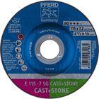 Immagine di PFERD Dischi da sbavo E 115-7 SG CAST+STONE