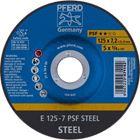 Immagine di PFERD Dischi da sbavo E 125-7 PSF STEEL
