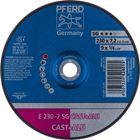 Immagine di PFERD Dischi da sbavo E 230-7 SG CAST+ALU