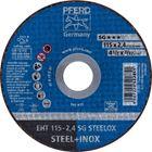 Immagine di PFERD Dischi da taglio EHT 115-2,4 SG STEELOX