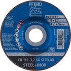 Immagine di PFERD Dischi da taglio EH 115-3,2 SG STEELOX