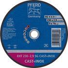 Immagine di PFERD Dischi da taglio EHT 230-2,9 SG CAST+INOX