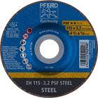 Immagine di PFERD Dischi da taglio EH 115-3,2 PSF STEEL