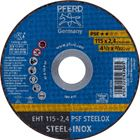Immagine di PFERD Dischi da taglio EHT 115-2,4 PSF STEELOX