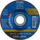 Immagine di PFERD Dischi da taglio EH 115-2,4 PSF STEELOX