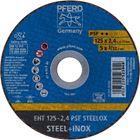 Immagine di PFERD Dischi da taglio EHT 125-2,4 PSF STEELOX