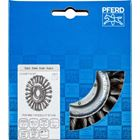 Immagine di PFERD Spazzole a disco, filo ritorto POS RBG 11512/22,2 CT ST 0,50
