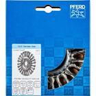Immagine di PFERD Spazzole a disco, filo ritorto POS RBG 12512/22,2 CT INOX 0,35