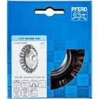 Immagine di PFERD Spazzole coniche con foro filettato, filo ritorto POS KBG 10013/M14 CT INOX 0,35