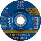 Immagine di PFERD Dischi da sbavo E 115-7 PSF STEELOX