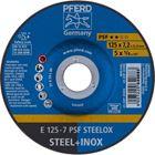 Immagine di PFERD Dischi da sbavo E 125-7 PSF STEELOX