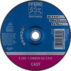 Immagine di PFERD Dischi da sbavo E 230-7 ZIRKON SG CAST