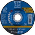 Immagine di PFERD Dischi da sbavo E 125-4,1 PSF STEELOX