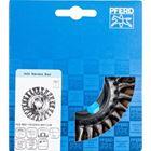 Immagine di PFERD Spazzole a disco, filo ritorto POS RBG 11512/M14 INOX 0,35