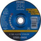 Immagine di PFERD Dischi da sbavo E 180-4,6 PSF STEELOX