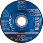 Immagine di PFERD Dischi da sbavo E 115-7 SGP WHISPER STEELOX