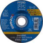 Immagine di PFERD Dischi da sbavo E 125-1,9 PSF DUO STEELOX