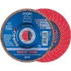 Immagine di PFERD Disco lamellare POLIFAN PFC 125 CO-FREEZE 36 SGP STRONG INOX