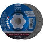 Immagine di PFERD disco da sbavo CC-GRIND CC-GRIND-SOLID 125 SG STEEL