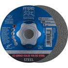 Immagine di PFERD disco da sbavo CC-GRIND CC-GRIND-SOLID 100 SG STEEL/16,0