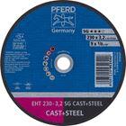 Immagine di PFERD Dischi da taglio EHT 230-3,2 SG CAST+STEEL