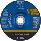 Immagine di PFERD Dischi da sbavo E 150-7 PSF STEEL
